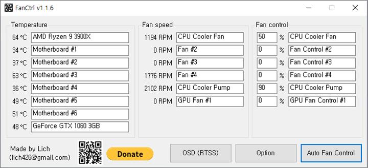 Control Fan Speed of PC