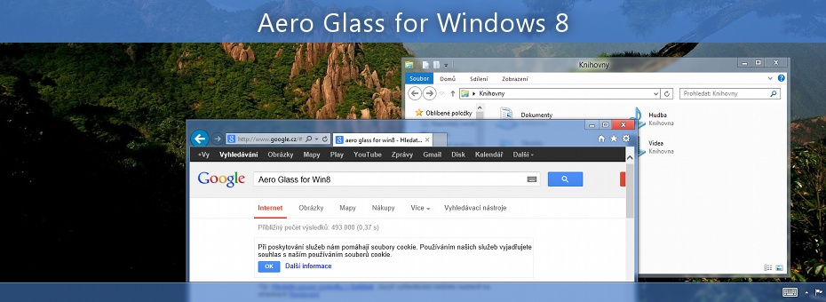 Aero Glass Theme on Windows 10