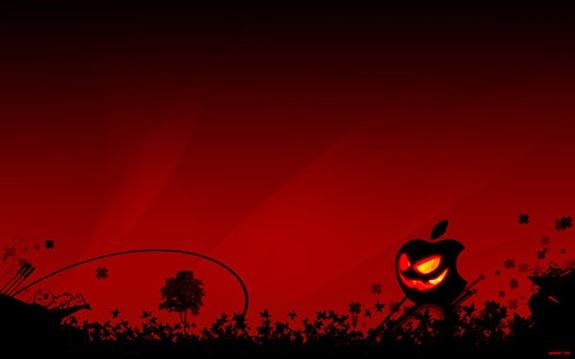 Apple_Halloween_by_bioeraser