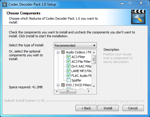 Codec Decoder Pack For Windows 7
