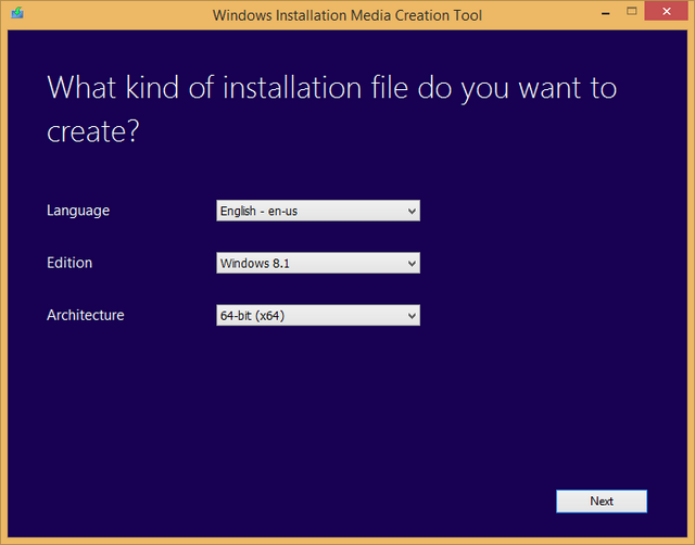Create Windows 8 iso