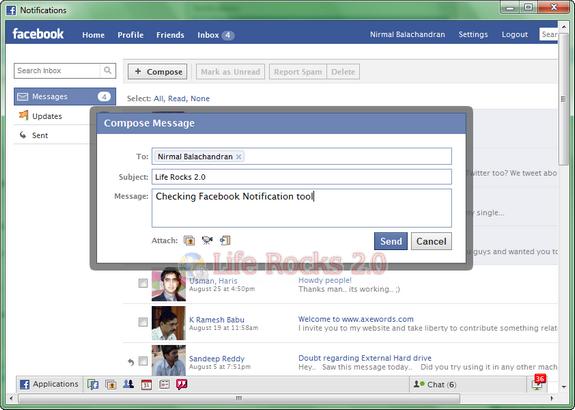 Desktop Facebook tool
