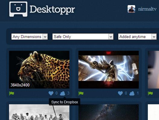 Desktoppr sync