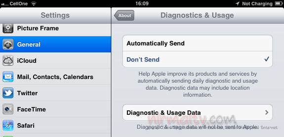 Diagnostic data