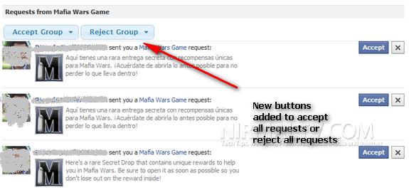 Facebook Request rejector