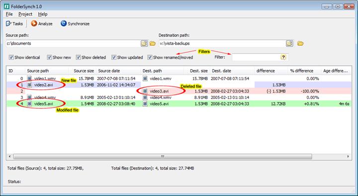 Synchronize Folders in Windows