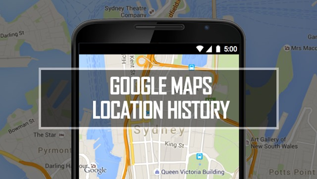 Google Maps location tracking