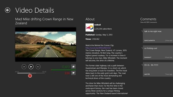 Hyper for YouTube video details