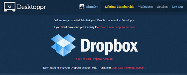 Link dropbox