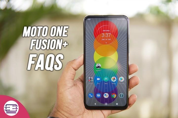 Motorola One Fusion+ FAQs