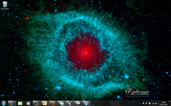 NASA Theme for Windows 7