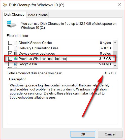 Previous version of Windows_1