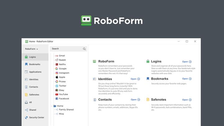 RoboForm Editor I