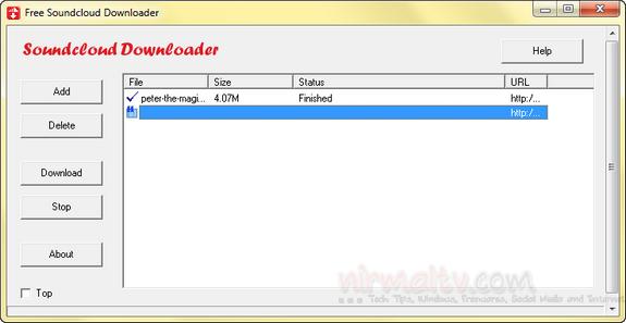 SSoundcloud Downloader(
