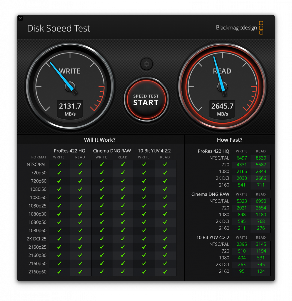 Check Disk Performance on macOS