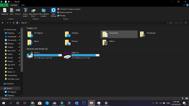Enable Dark Mode on Windows 10