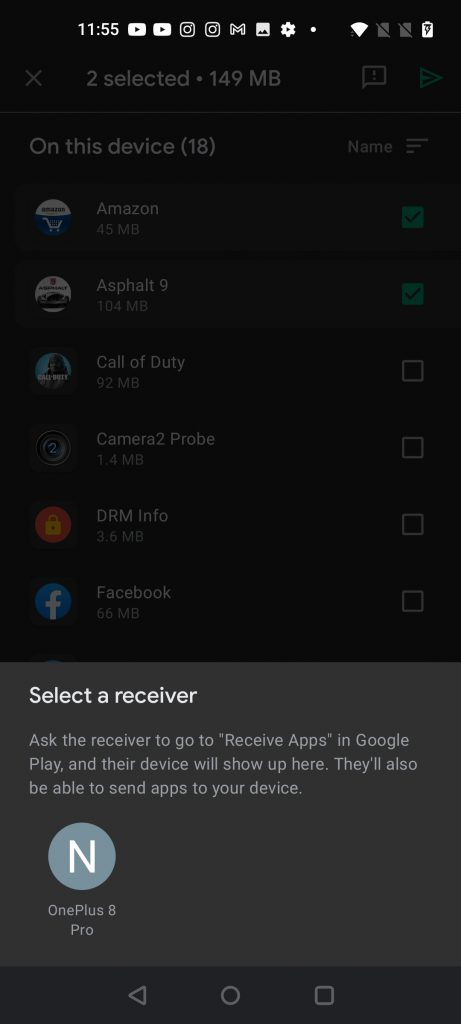 Share Android Apps