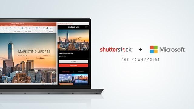 Shutterstock powerpoint add-in
