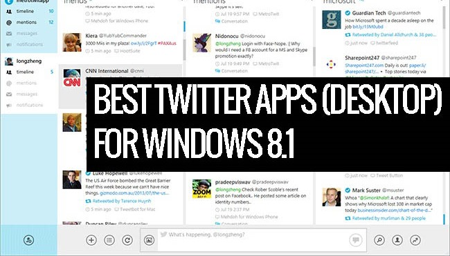 Twitter for windows