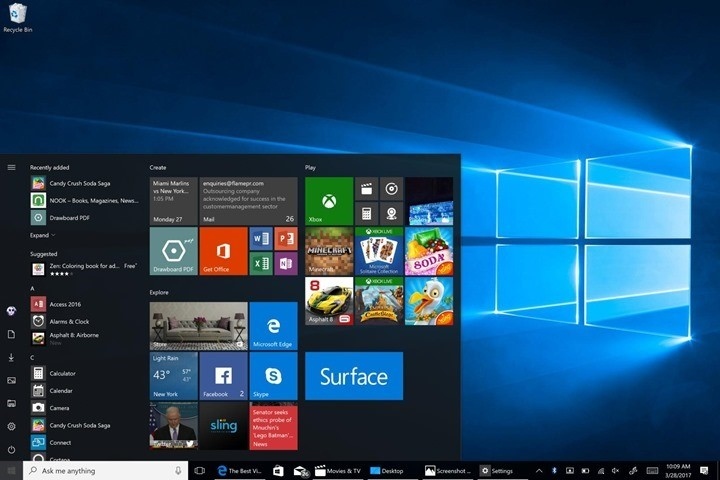 Uninstall Windows 10 Fall creators update