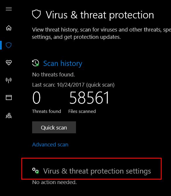 Virus and threat