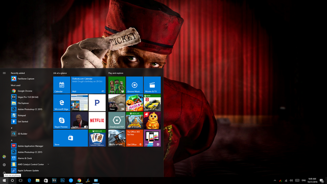 Windows 10 Halloween themes