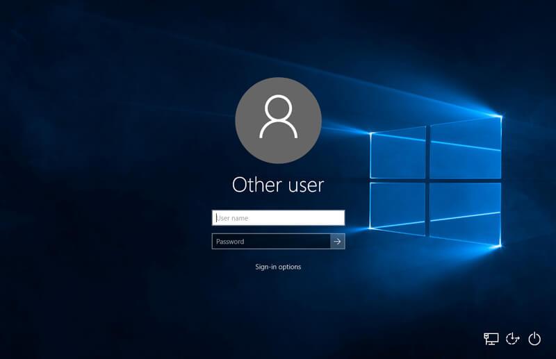 Windows 10 Automatic login