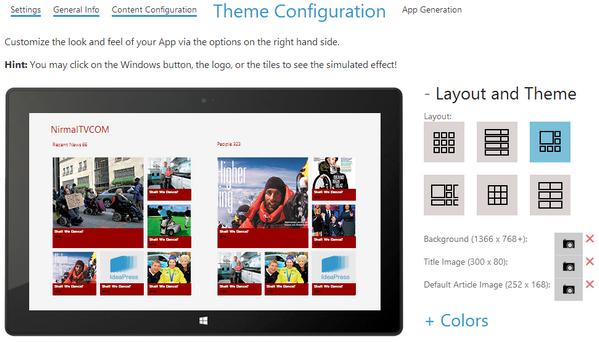 Windows 8 WordPress App
