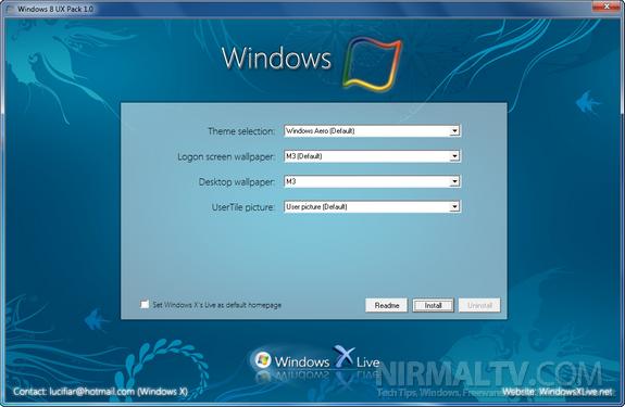 Windows 8 theme pack