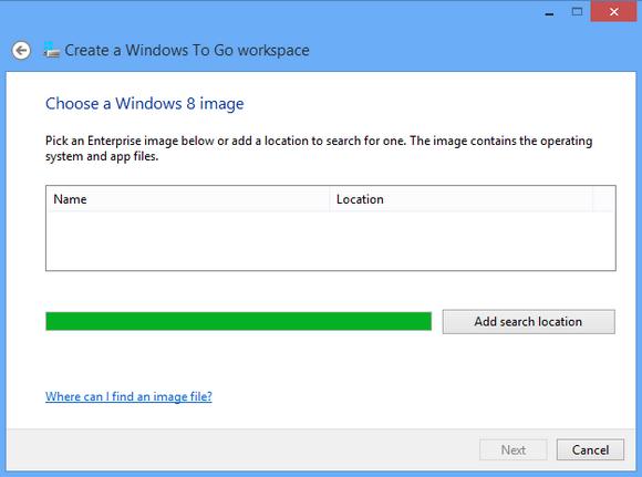 Windows image