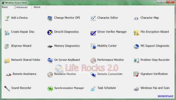 Windows Access Panel_1