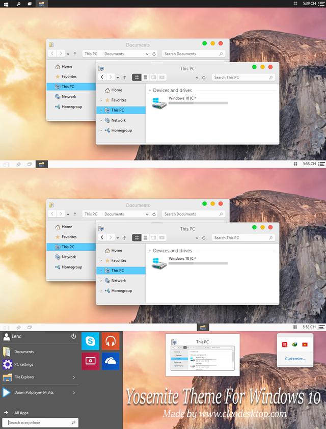 Yosemitte OS x