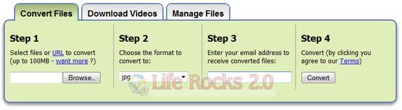 Zamzar File Conversion