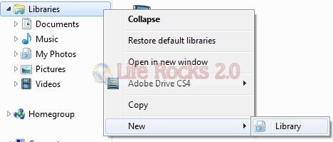Add new Library