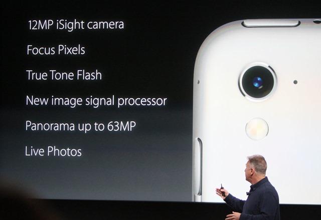 camera on iPad pro
