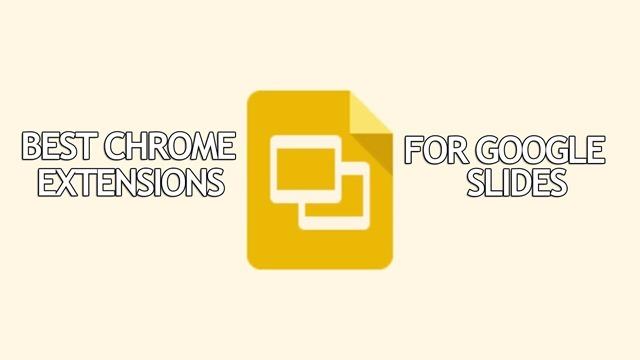 chrome extension for google slides