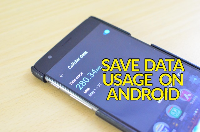 Reduce Data Usage on Android