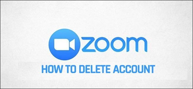 delete zoom account