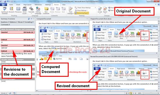 Document comparision