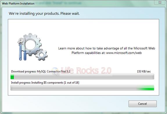 downloading MySql