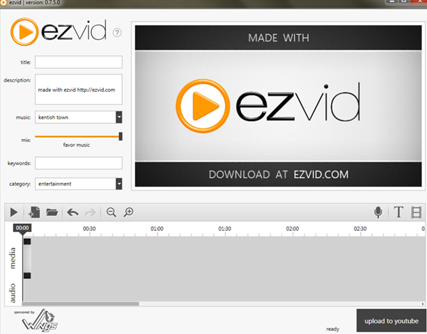 ezvid-interface1