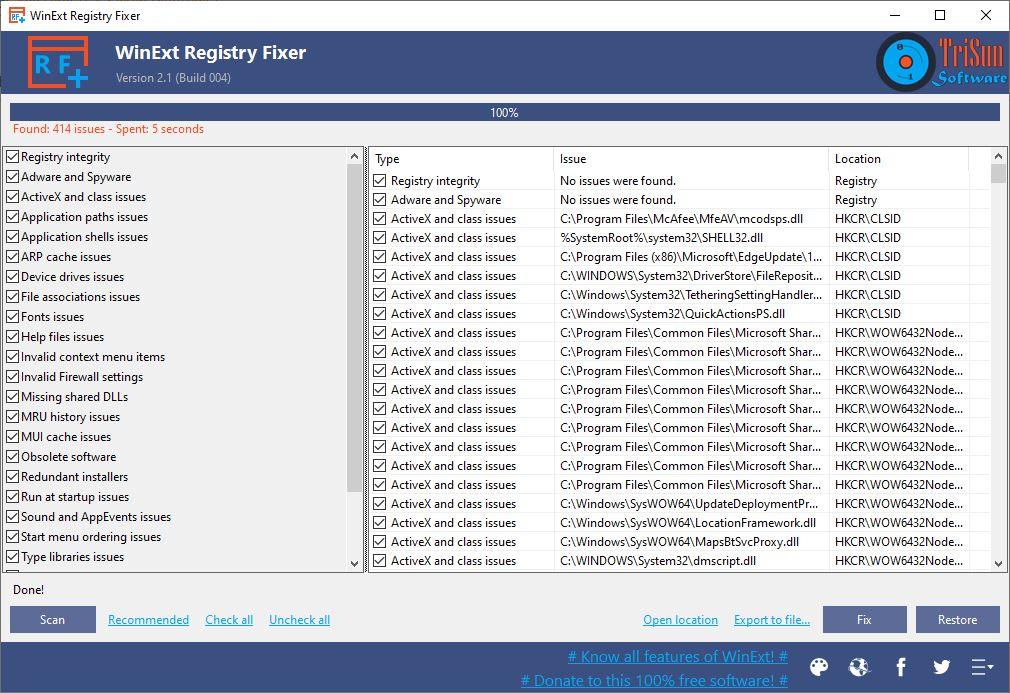 Fix Windows 10 Registry Problems