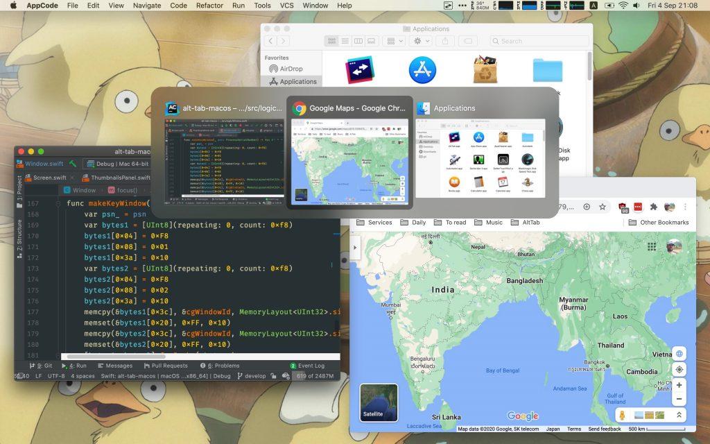Windows ALT+Tab function in macOS