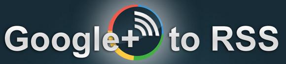 google plus RSS