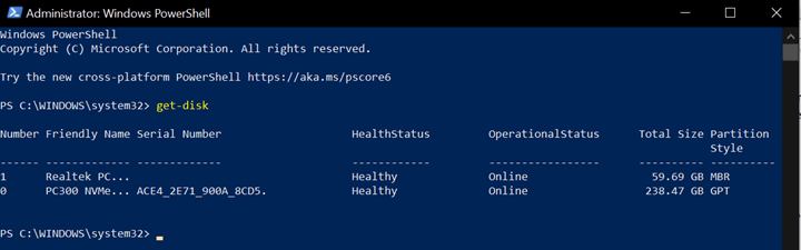 Partition a Drive With PowerShell