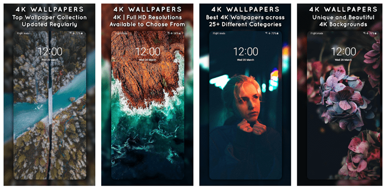 High Resolution Wallpapers for Android