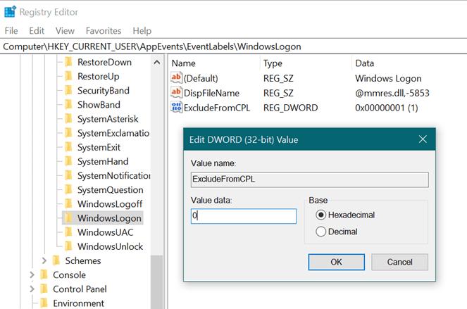 Change Windows 10 Startup Sound