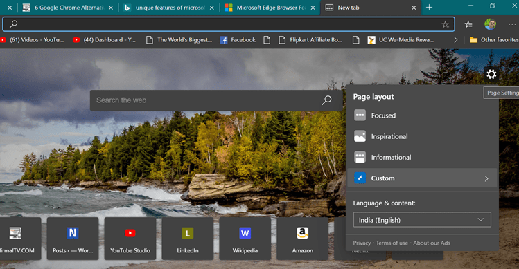 Best Features of Microsoft Edge Browser