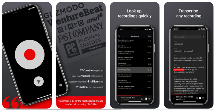 Call Recording Apps for iPhone
