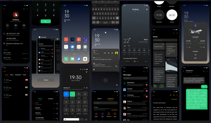 Dark Mode on ColorOS 7